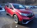 Honda CR-V EX AWD Radiant Red Metallic photo #6