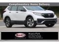 Honda CR-V LX Platinum White Pearl photo #1