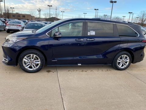 Blueprint 2021 Toyota Sienna Limited AWD Hybrid