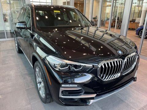 Black Sapphire Metallic 2021 BMW X5 xDrive40i