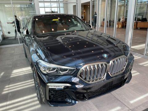 Carbon Black Metallic 2021 BMW X6 xDrive50i