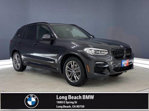 Dark Graphite Metallic 2021 BMW X3 sDrive30i