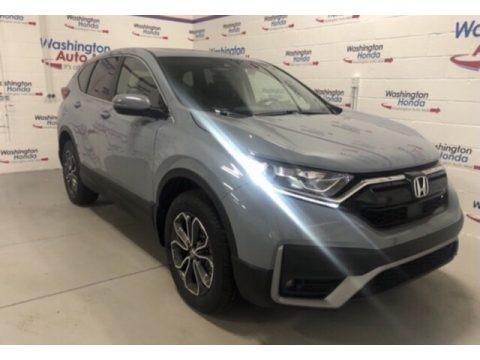 Sonic Gray Pearl 2021 Honda CR-V EX-L AWD