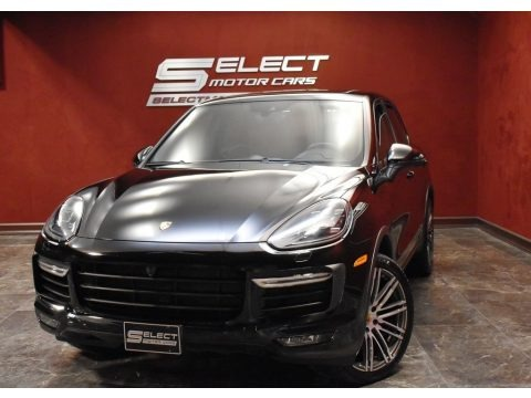Black 2016 Porsche Cayenne Turbo