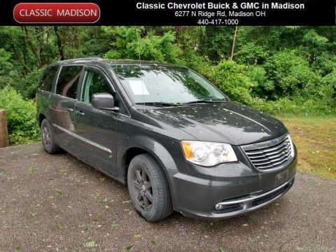 Dark Charcoal Pearl 2011 Chrysler Town & Country Touring