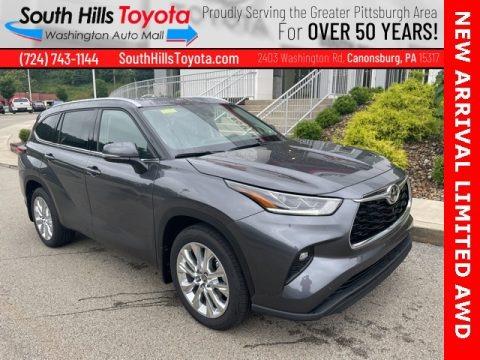 Magnetic Gray Metallic 2021 Toyota Highlander Limited AWD