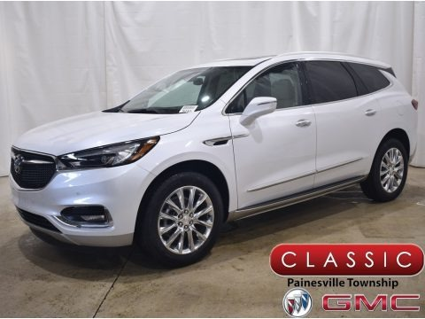 White Frost Tricoat 2021 Buick Enclave Premium AWD