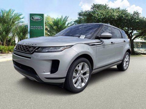 Seoul Pearl Silver Metallic 2021 Land Rover Range Rover Evoque SE