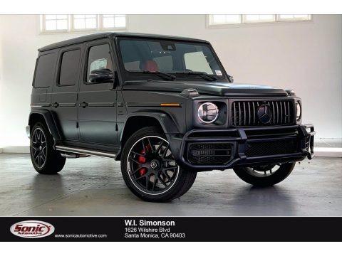 designo Night Black Magno (Matte) 2021 Mercedes-Benz G 63 AMG