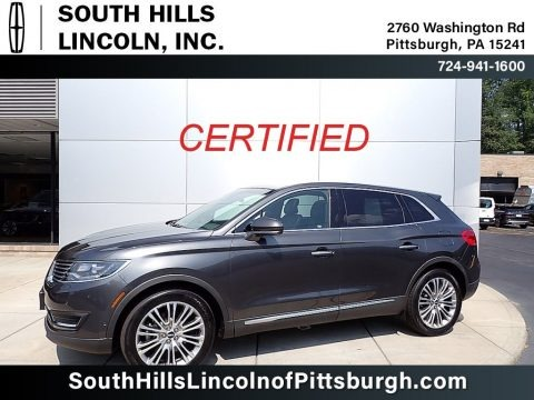 Magnetic Gray Metallic 2018 Lincoln MKX Reserve AWD