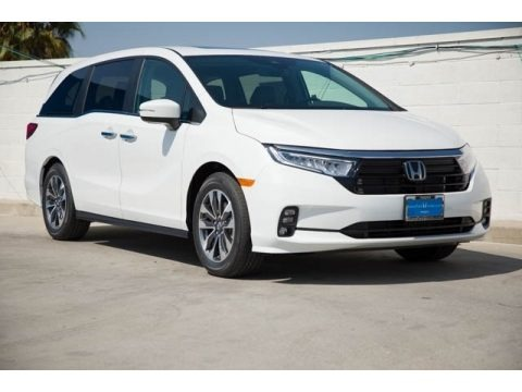 Platinum White Pearl 2022 Honda Odyssey EX-L
