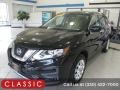 Nissan Rogue S AWD Magnetic Black photo #1