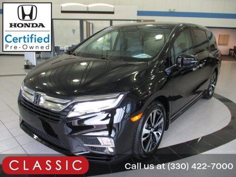 Crystal Black Pearl 2020 Honda Odyssey Elite