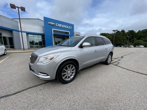 Quicksilver Metallic 2016 Buick Enclave Leather AWD