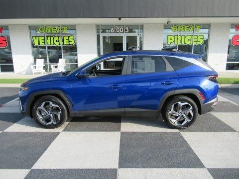 Intense Blue 2022 Hyundai Tucson SEL