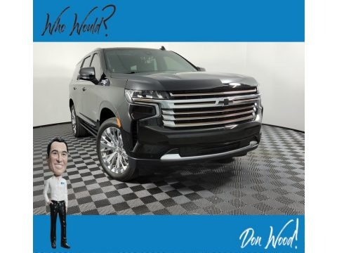 Black 2021 Chevrolet Tahoe High Country 4WD