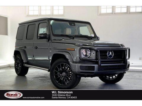 designo Graphite Metallic 2021 Mercedes-Benz G 550