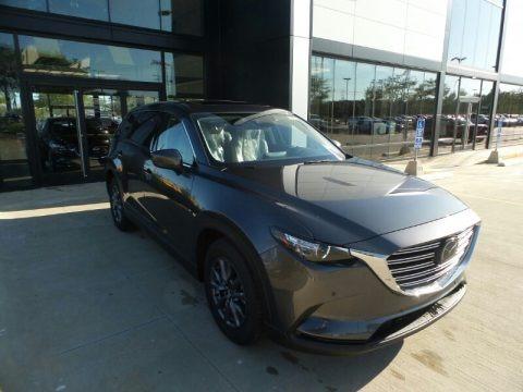 Machine Gray Metallic 2021 Mazda CX-9 Touring AWD