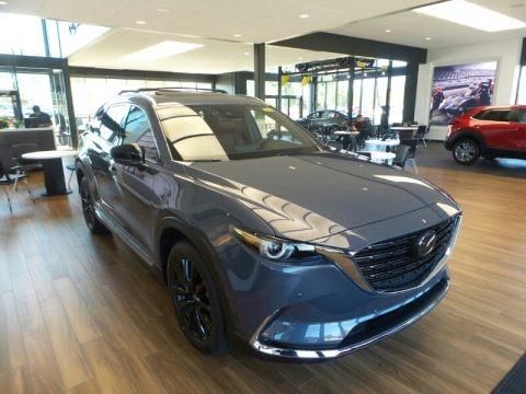 Polymetal Gray 2021 Mazda CX-9 Carbon Edition AWD