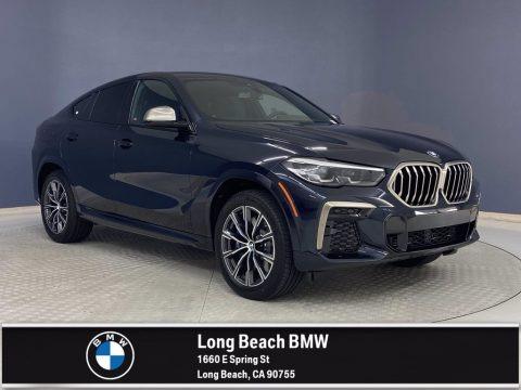 Carbon Black Metallic 2022 BMW X6 M50i