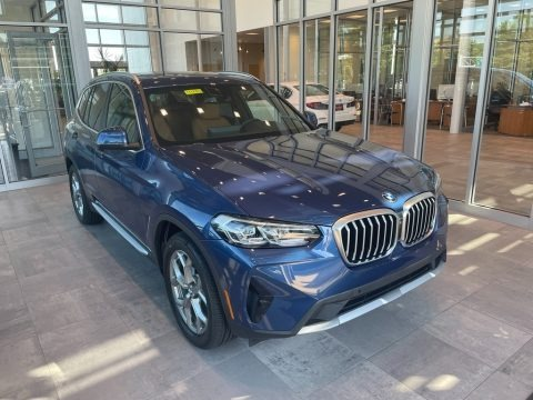 Phytonic Blue 2022 BMW X3 xDrive30i