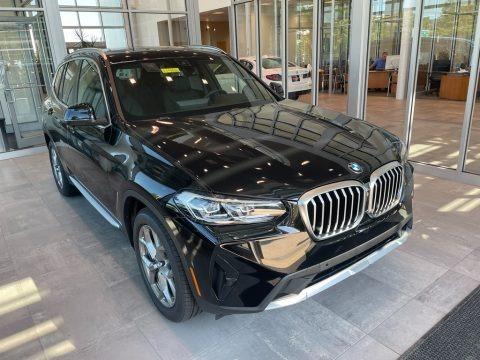 Black 2022 BMW X3 xDrive30i