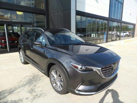 Machine Gray Metallic 2021 Mazda CX-9 Signature AWD