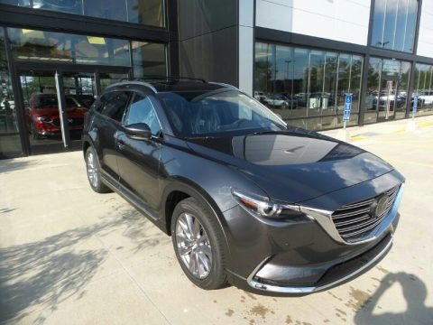 Machine Gray Metallic 2021 Mazda CX-9 Grand Touring AWD
