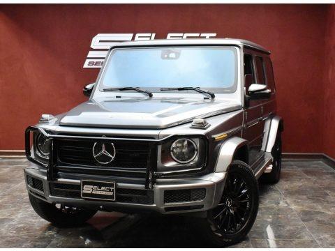 Selenite Grey Metallic 2019 Mercedes-Benz G 550