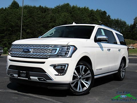 Star White 2021 Ford Expedition Platinum Max 4x4