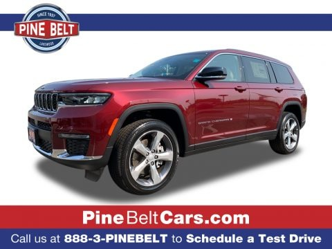 Velvet Red Pearl 2021 Jeep Grand Cherokee L Limited 4x4