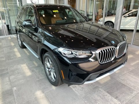 Black Sapphire Metallic 2022 BMW X3 xDrive30i