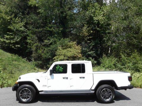 Bright White 2021 Jeep Gladiator Overland 4x4