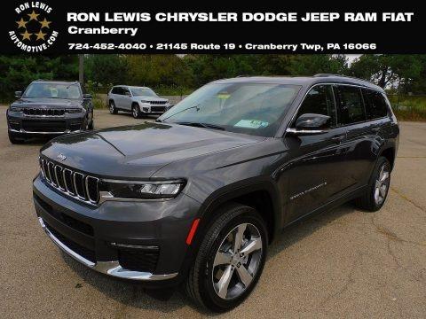 Baltic Gray Metallic 2021 Jeep Grand Cherokee L Limited 4x4