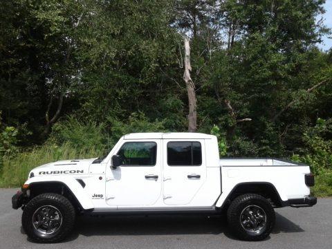 Bright White 2021 Jeep Gladiator Rubicon 4x4