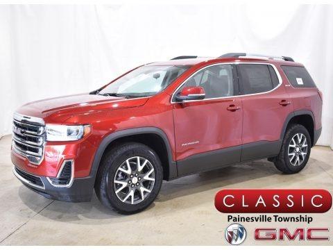 Cayenne Red Tintcoat 2021 GMC Acadia SLE AWD