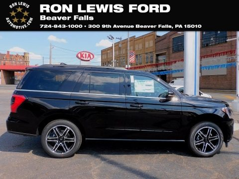 Agate Black 2021 Ford Expedition Limited 4x4