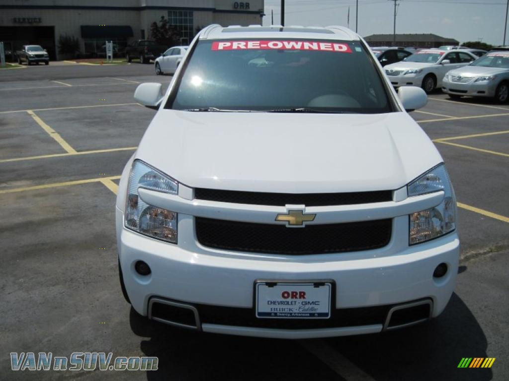 2009 chevrolet equinox sport awd in summit white photo 2 250459 vans and suvs. Black Bedroom Furniture Sets. Home Design Ideas
