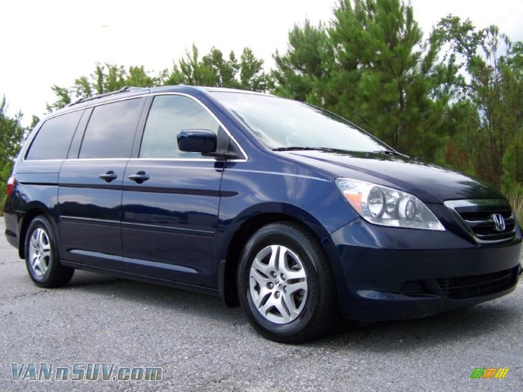 2012 Honda Odyssey For Sale >> 2005 Honda Odyssey EX-L in Midnight Blue Pearl - 075335 | VANnSUV.com - Vans and SUVs for sale ...