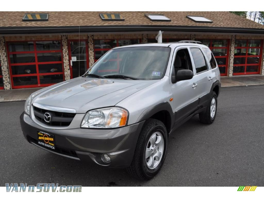 2004 mazda tribute lx v6 4wd in glacier silver metallic. Black Bedroom Furniture Sets. Home Design Ideas