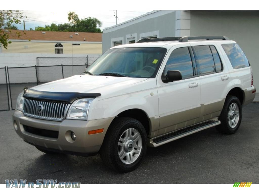 2005 Mercury Mountaineer V6 In Oxford White J06145 Vans And Suvs For Sale In