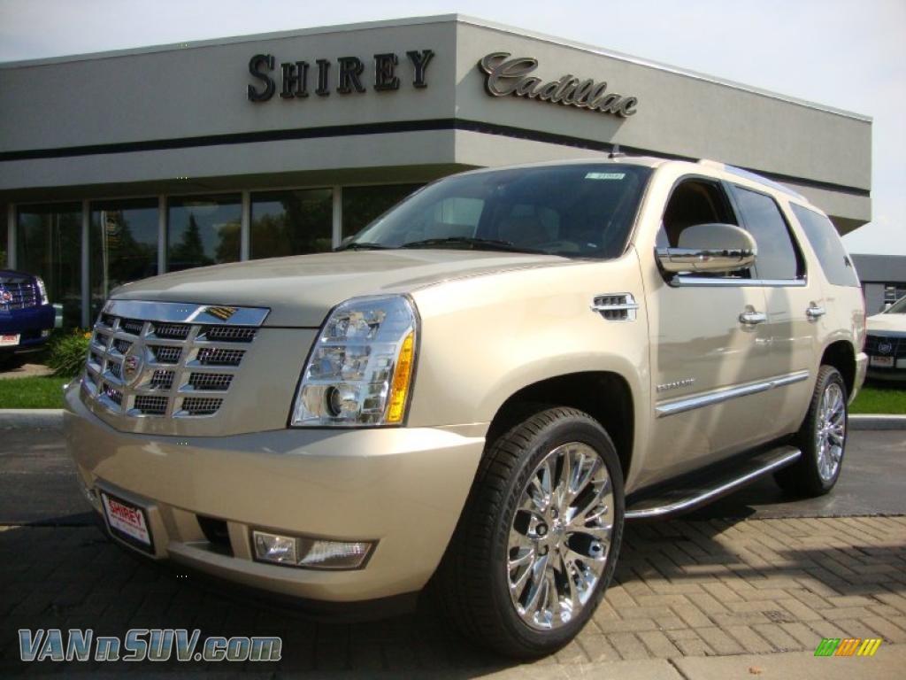 2011 Cadillac Escalade Luxury Awd In Gold Mist Metallic