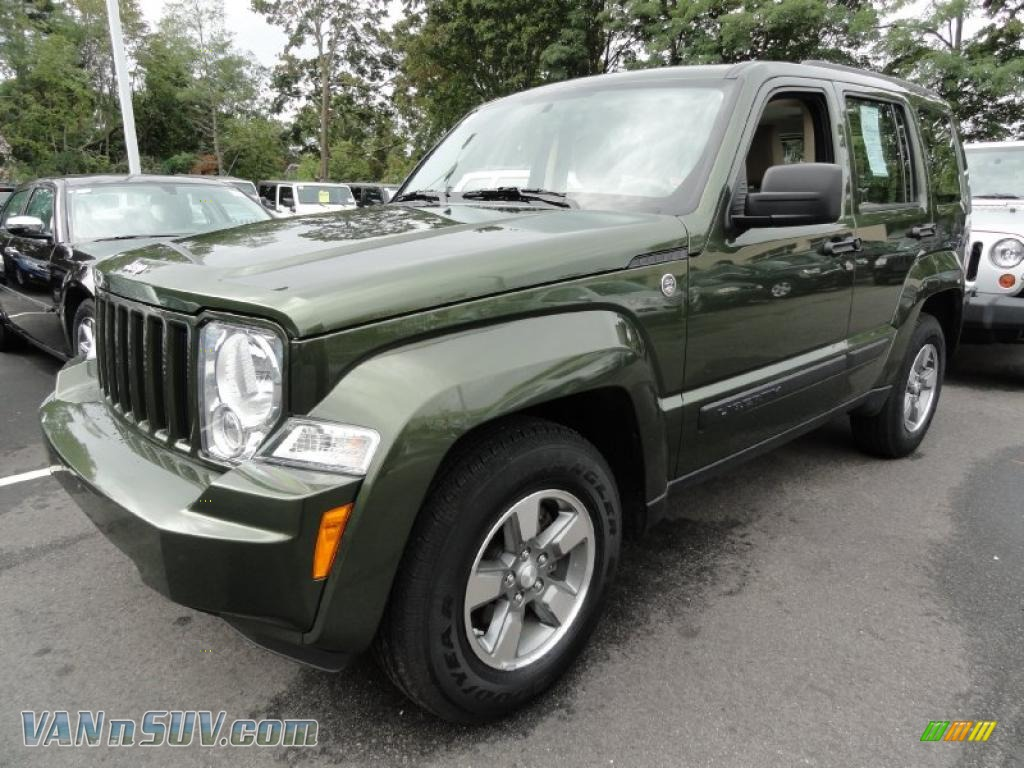 2008 jeep liberty sport 4x4 in jeep green metallic - 215864