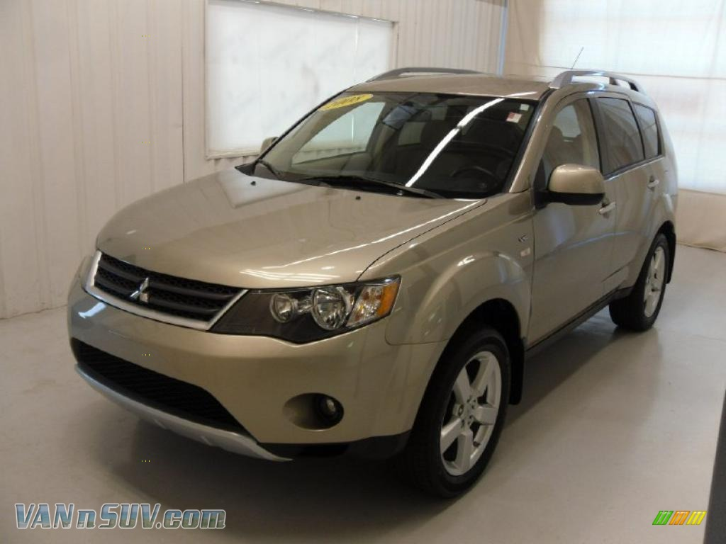 2008 mitsubishi outlander xls in desert sand metallic 019875 vans and suvs for. Black Bedroom Furniture Sets. Home Design Ideas
