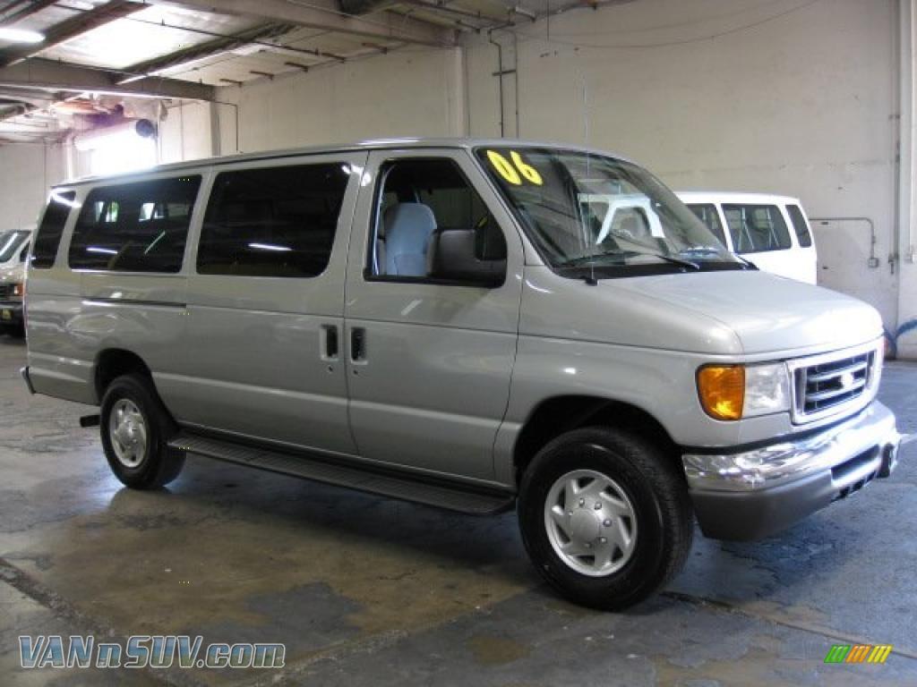 2006 ford e series van e350 xlt 15 passenger in silver metallic a77997 vans. Black Bedroom Furniture Sets. Home Design Ideas