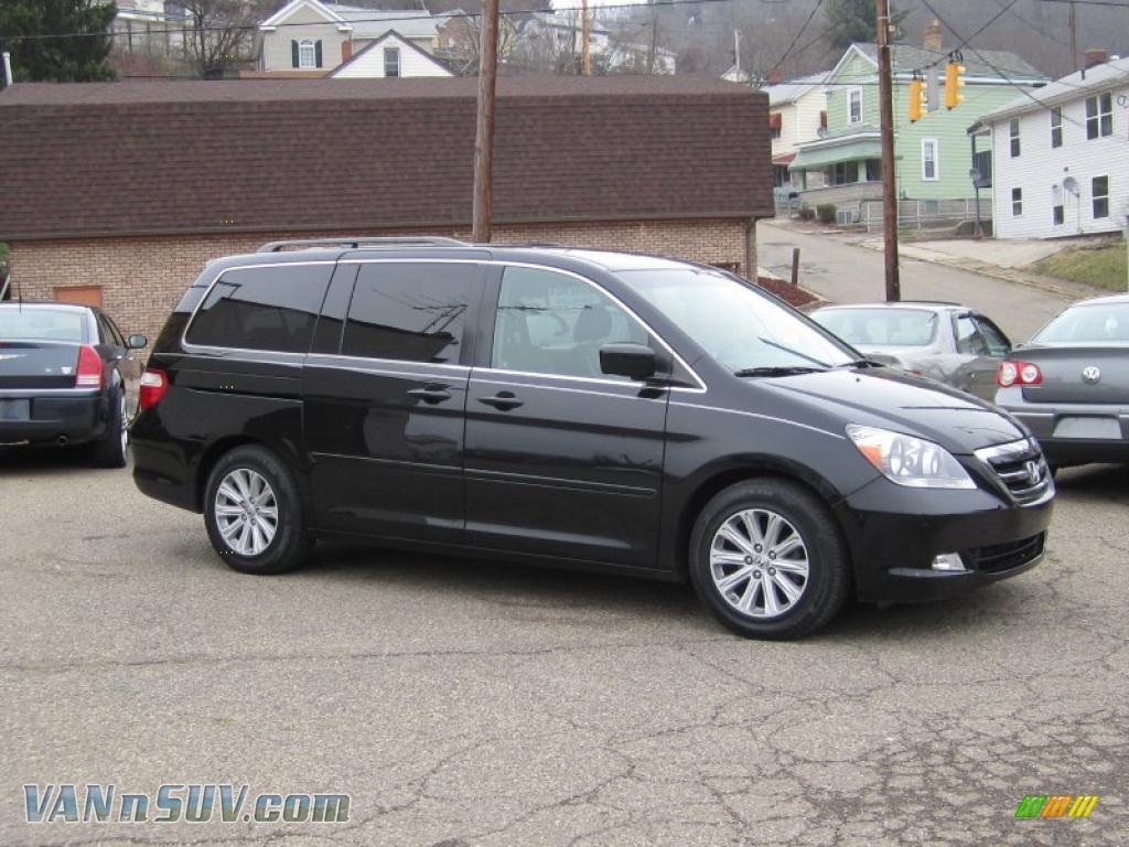Nighthawk Black Pearl / Black Honda Odyssey Touring