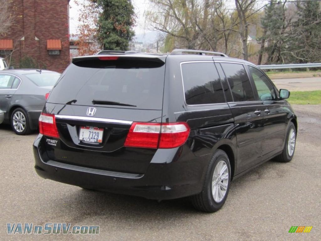 2006 Honda Odyssey Touring In Nighthawk Black Pearl Photo
