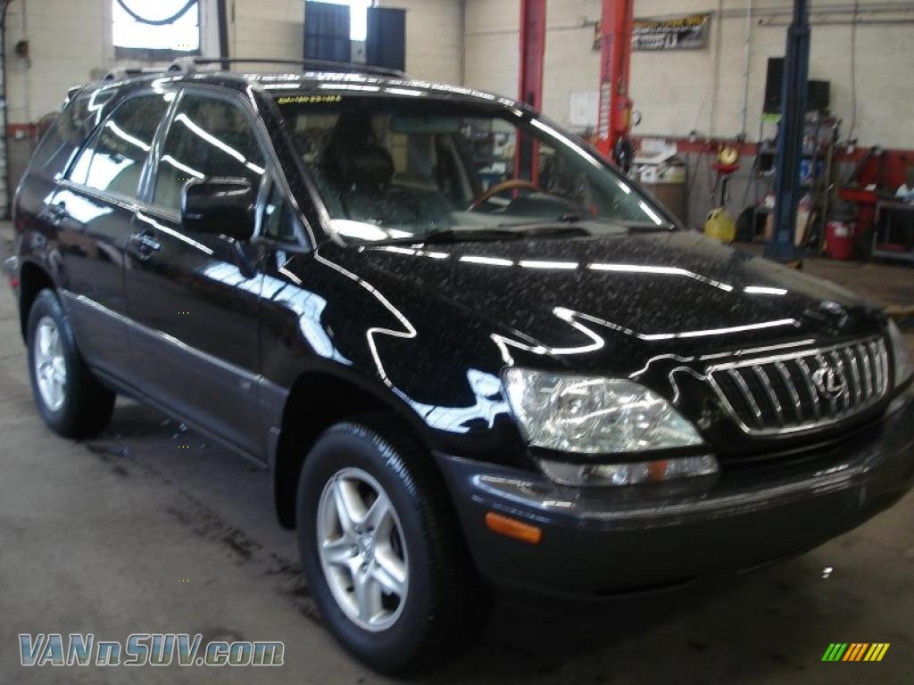 2001 Lexus Rx 300 Awd In Black Onyx 189040 Vannsuv Com Vans And Suvs For Sale In The Us