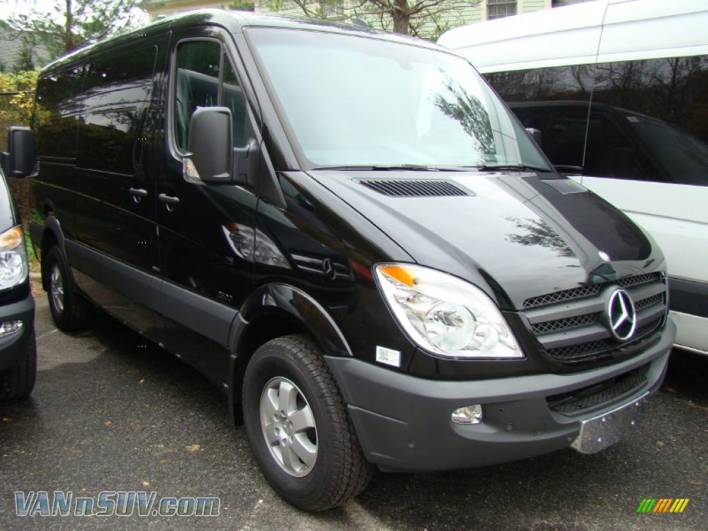 2010 mercedes benz sprinter 2500 passenger van in black 494601 vans and suvs. Black Bedroom Furniture Sets. Home Design Ideas