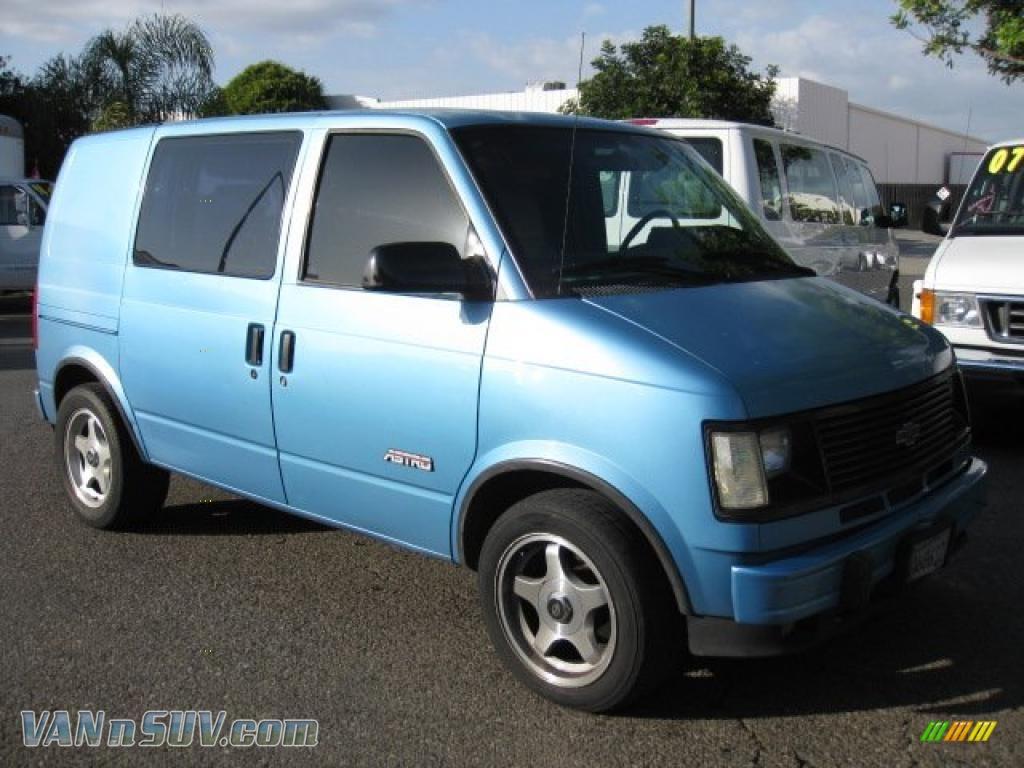 1994 chevrolet astro cargo van in light quasar blue metallic 232010 vans and. Black Bedroom Furniture Sets. Home Design Ideas